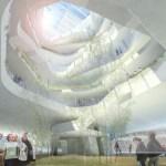 View up Forum atrium
