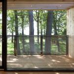 View from Master Bedroom (Image Courtesy Ben Rahn/A-Frame Inc.)