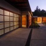 Custom-designed copper door (Images Courtesy Richard Barnes)