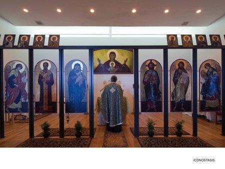 Iconostasis (Images Courtesy Timothy Hursley)