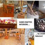 Handcrafted interiors (Image Courtesy Mr.Krishnau Chaterjee)