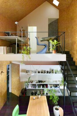 Interior View (Images Courtesy Hidehiro Fukuda architects)