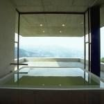 Bathroom overlooking the ocean