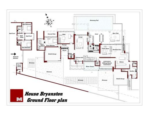 Fround floor plan