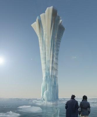 The glacier spring
