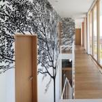 Wall arts at 2nd floor