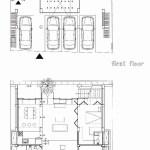 Basement and 1st floor plan