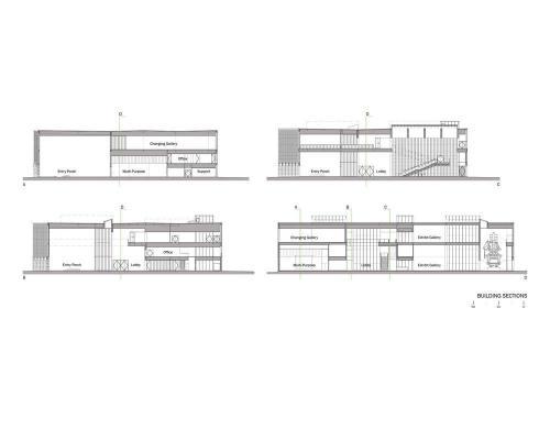 Sections (Courtesy Eskew+Dumez+Ripple)