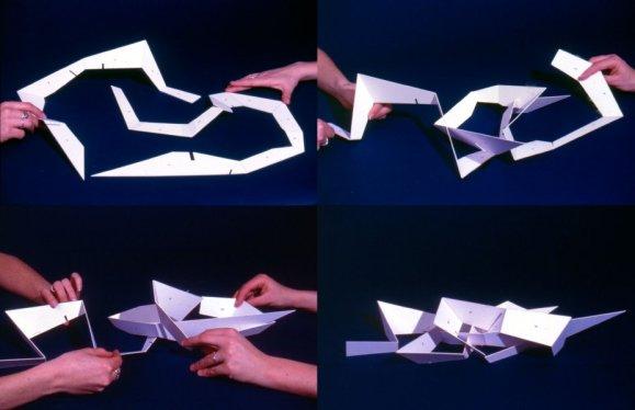 Paper Model Composite (Image Courtesy SDL)