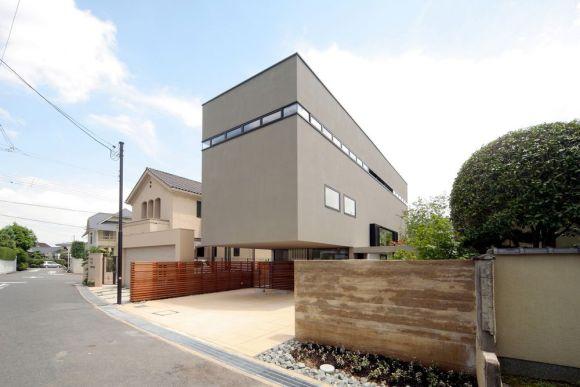 View of the north facade (Image Courtesy Nagaishi Hidehiko)