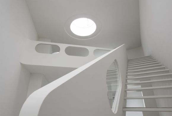 7th Floor, Stairs to Gallery (Image Courtesy David Franck)