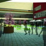 Inner Plaza Entrance