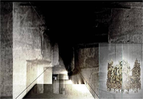 Concept Rendering of Interior Exhibition Space