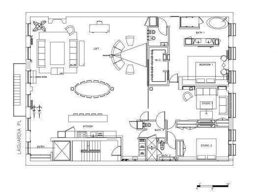 Floor Plan: Image Courtesy Jendretzki llc.