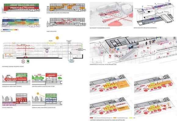 Diagrams : Image Courtesy Kubota&Bachmann Architects+Martinez