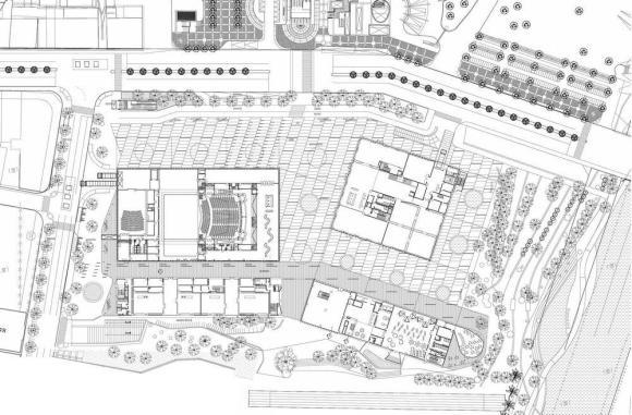 Siteplan : Image Courtesy de Architekten Cie.