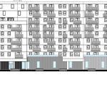 West Elevation : Image Courtesy Studio za arhitekturu (SZA)