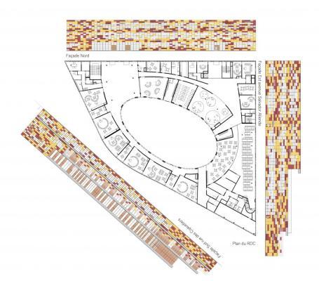 BOBIGNY PLANS : Image Courtesy Mikou Design Studio