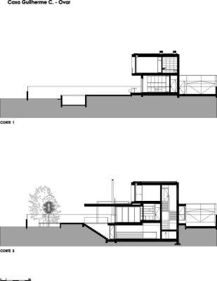 Sections : Image Courtesy Atelier d'Architecture | Lopes da Costa