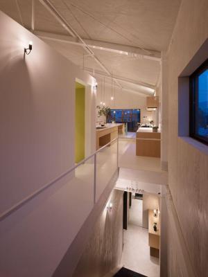 Corridor : Image Courtesy © Toshiyuki Yano