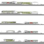Sections : Image courtesy A i B arquitectes + Estudi PSP Arquitectura