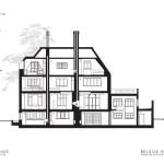 Section : Image courtesy Belsize Architects
