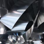 Image Courtesy ©  Atsushi Ishida, detail of aluminum ceiling