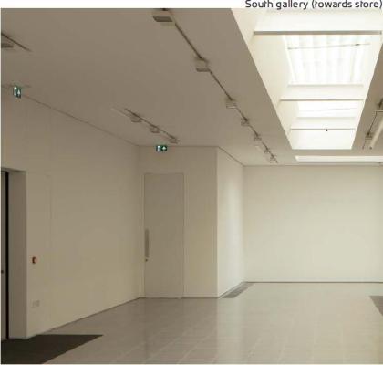 South gallery (towards store), Image Courtesy © Luke Hayes