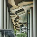 View of urban verandah and covered walkway, Image Courtesy © Patrick Bingham-Hall