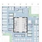 Image Courtesy ©  spatial practice, Harbin plan L shape rotation.