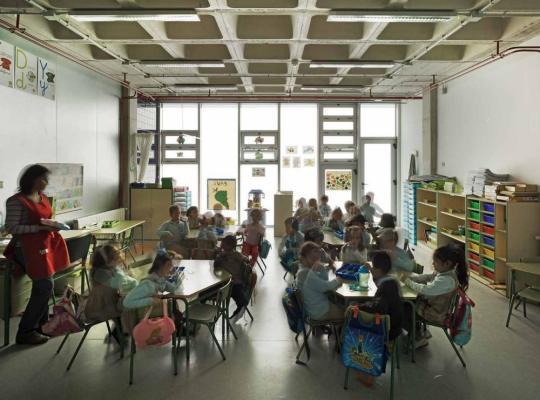 Child Classroom, Image Courtesy © David Frutos