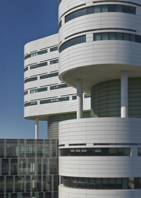 Rush University Medical Center New Hospital Tower (Chicago), Perkins+Will