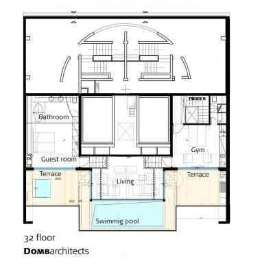 Image Courtesy © Domb architects