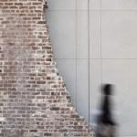 Image Courtesy ©  SCAD, Historic brick ruin contrasts cast concrete structure