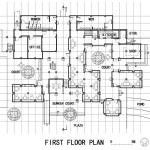 First Floor Plan, Image Courtesy © Pu Miao Architecture