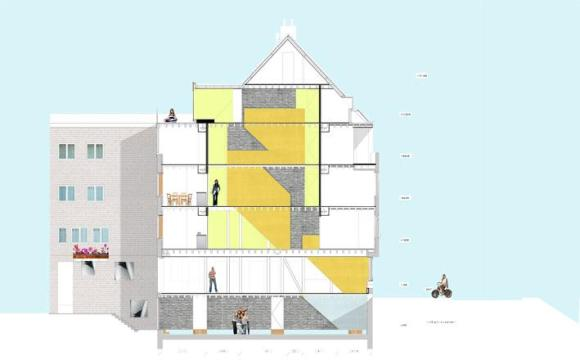 Image Courtesy ©  Krill Architecture & Christian Müller Architects