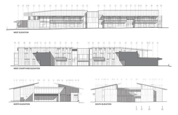 Elevations, Image Courtesy © EHDD