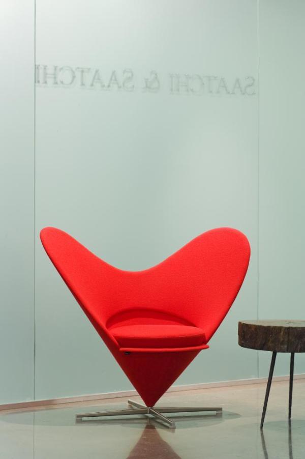 Saatchi Toronto Lovemark chair in recpetion
