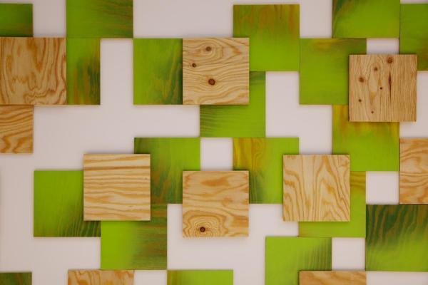 Wooden tiles, Image Courtesy © Atsushi ishida