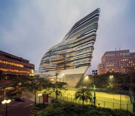 Jockey Club Innovation Tower - Zaha Hadid Architects