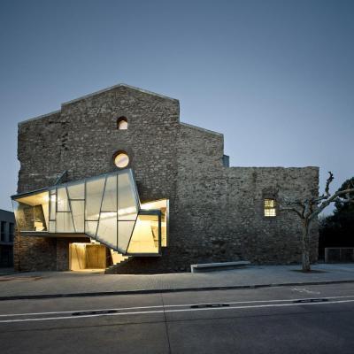 Sant Francesc Church Auditorium(2003-2011, David Closes, in Santpedor), Image Courtesy ©  Jordi Surroca