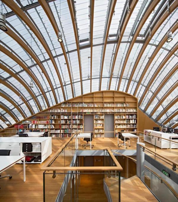 Interior view: level +5, Image Courtesy © Michel Denancé
