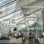 Interior view -Strauss conservation laboratory September 2014,Image Courtesy © Ph. Nic Lehoux