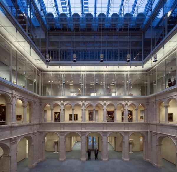 Interior View Calderwood courtyard November 2014, Image Courtesy © Michel Denancé