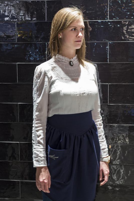 Female staff uniform, Image Courtesy © Gareth Gardner