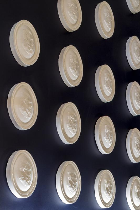 Sir James Pennethorne cameo wall, Image Courtesy © Gareth Gardner