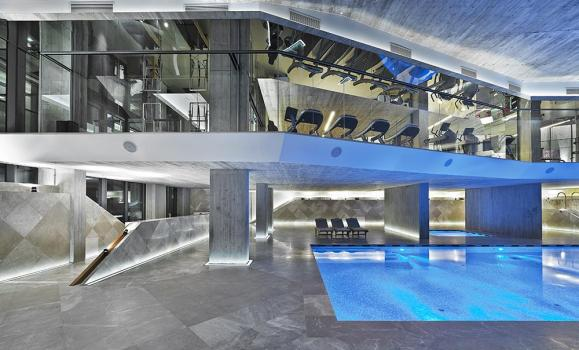 GYM AND SWIMMING POOL, Image Courtesy © Autoban