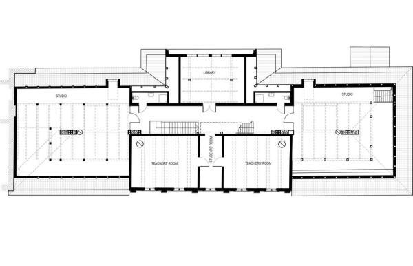 First floor plan, Image Courtesy © Zaigas Gailes Birojs