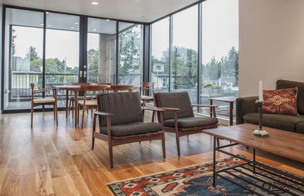 Living Room, Image Courtesy © Potestio Studios