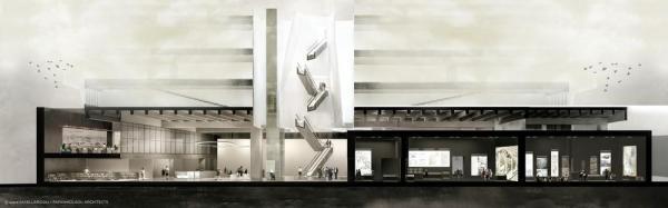 Exhibition Area , Image Courtesy © SPARCH SAKELLARIDOU/PAPANIKOLAOU ARCHITECTS